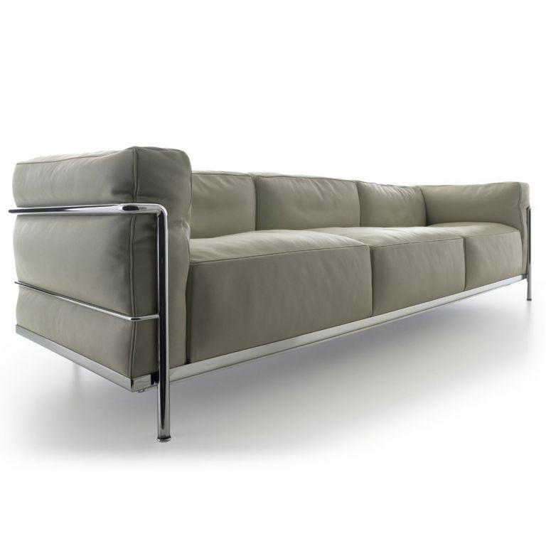 LC3 3 Seat Sofa