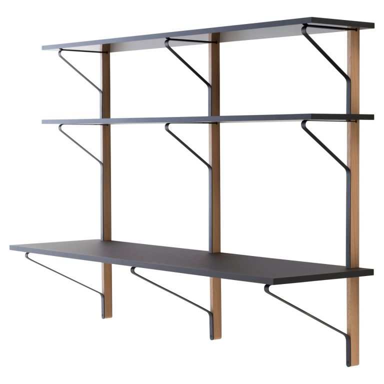 Kaari Shelf With Desk