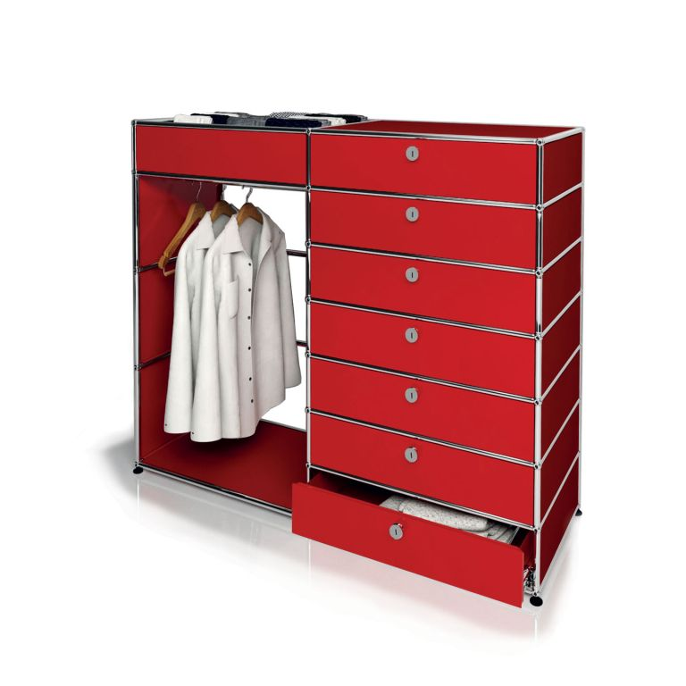 USM 7 Drawer Tallboy