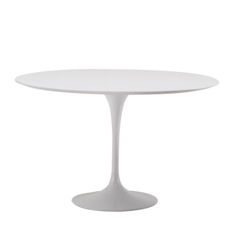Saarinen Round Table - Arabescato Marble