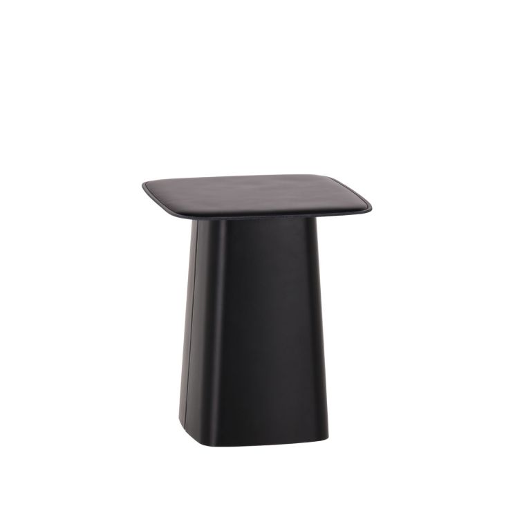 Leather Side Table Small