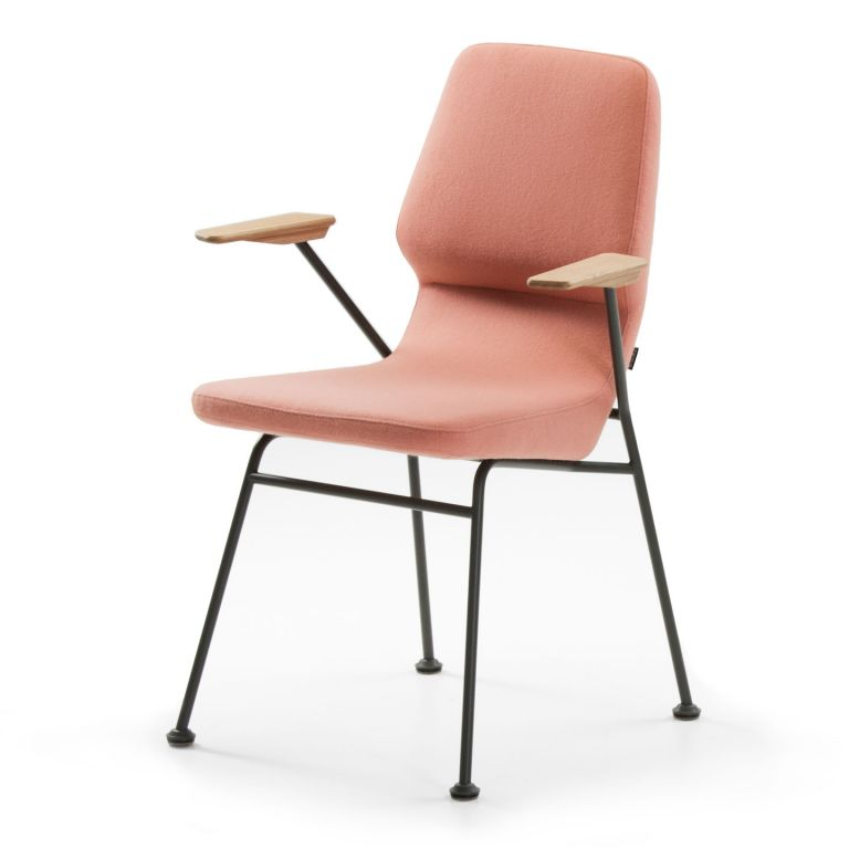 Oblique Dining Arm Chair