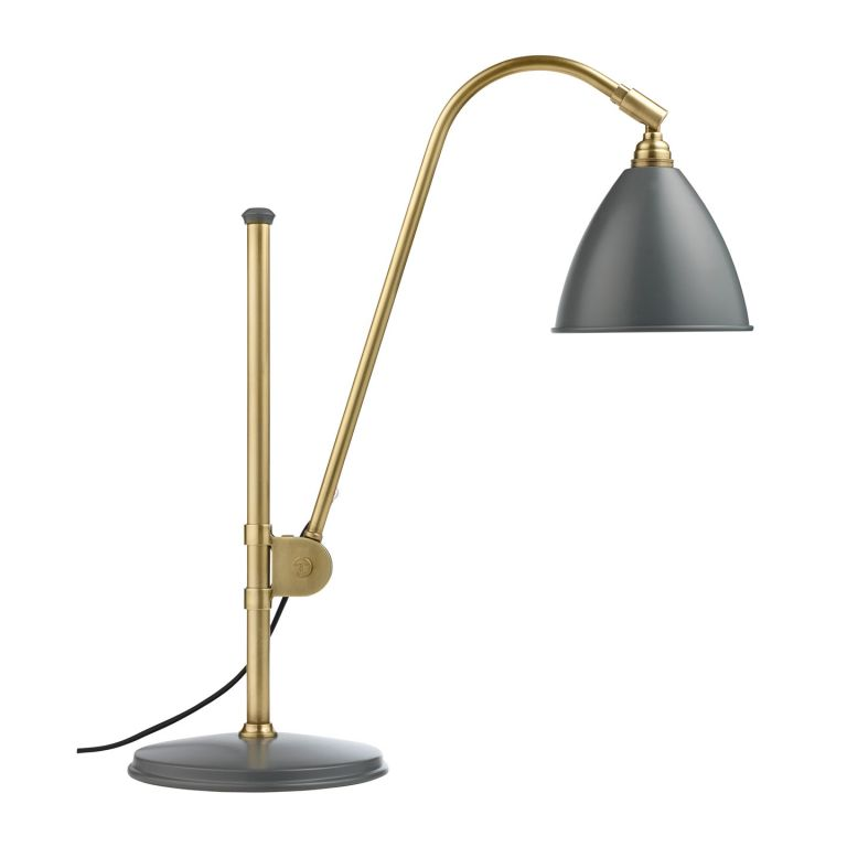 BL1 Table Lamp - brass and grey