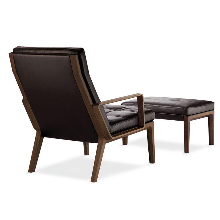 Ex Display Andoo chair and ottoman