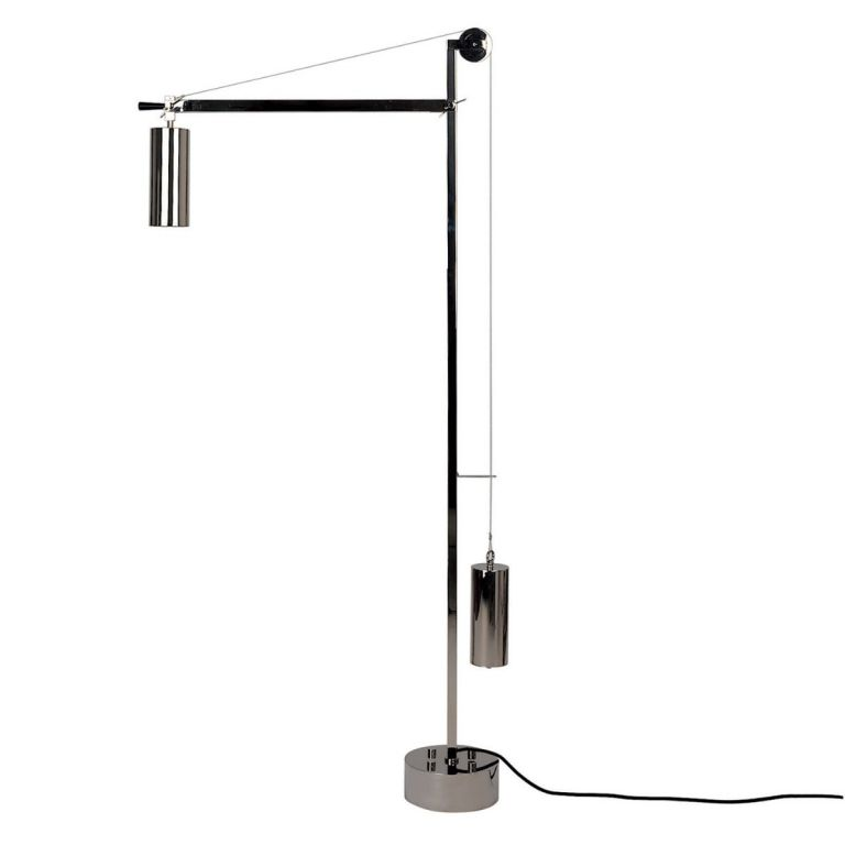 Bauhaus Counterweight Floor Lamp by Tecnolumen