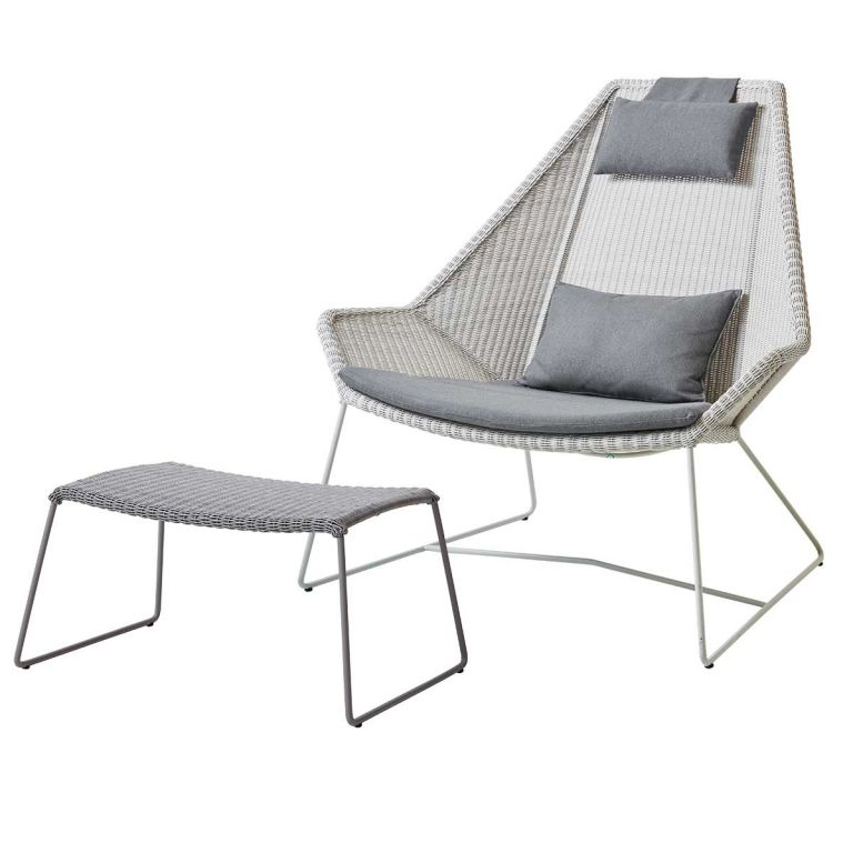 Ex Display Breeze Lounge Chair and Stool