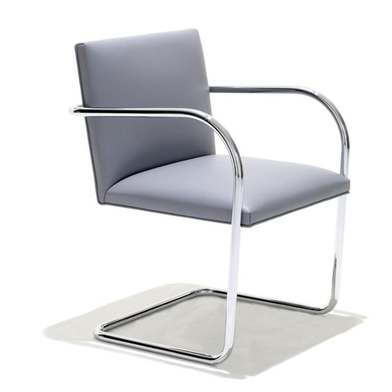 Brno Chair Tubular Frame by Mies van der Rohe for Knoll International