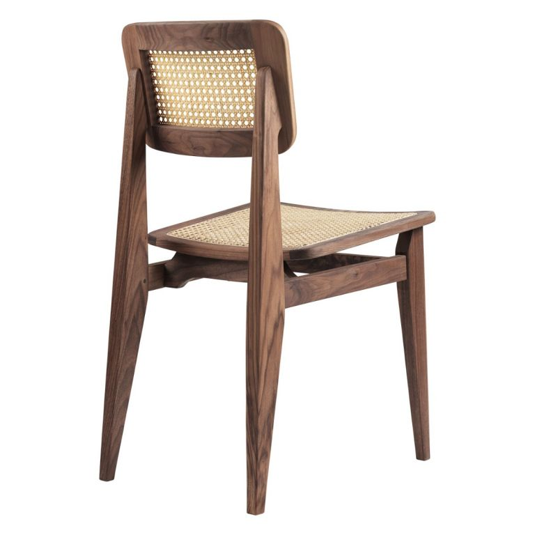 C-Chair French Cane by Marcel Gascoin for Gubi