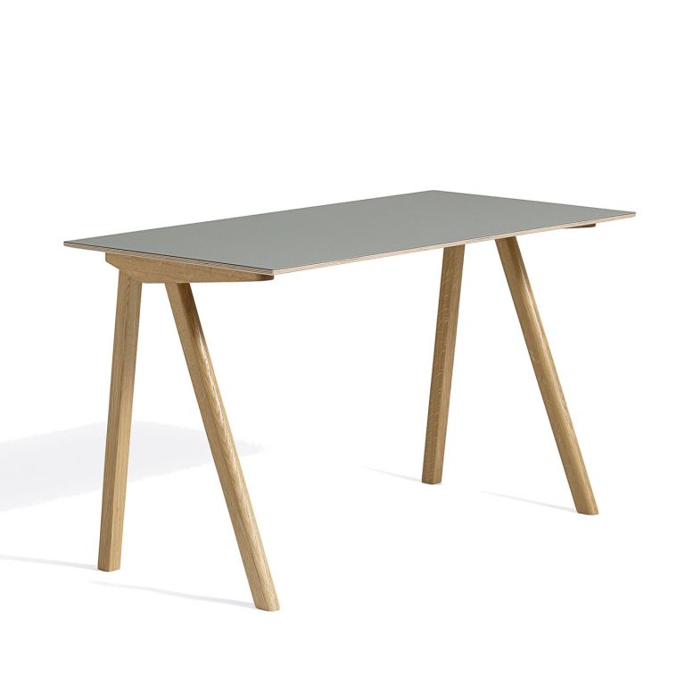 Copenhague Desk - Ronan & Erwan Bouroullec for Hay - green lino
