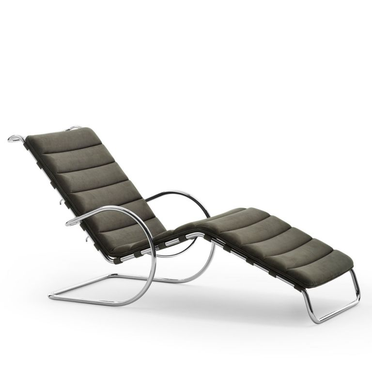 MR Adjustable Chaise Bauhaus Edition by Mies van der Rohe for Knoll International
