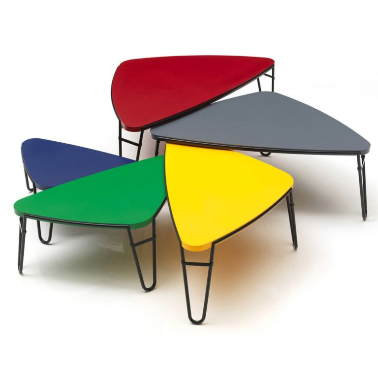 Petalo Set of Tables by Charlotte Perriand for Cassina