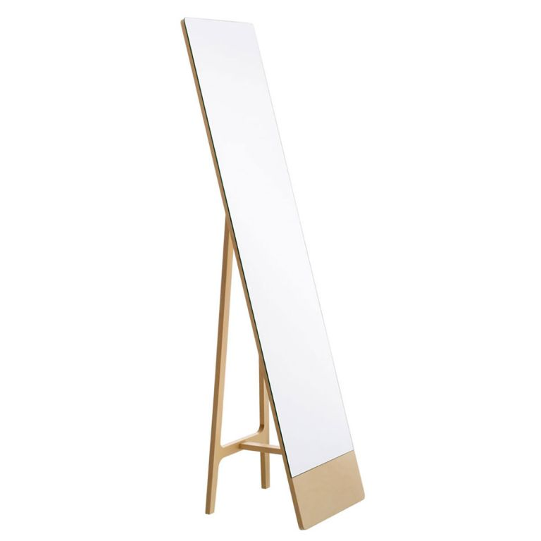 Mira free-standing mirror - Swedese