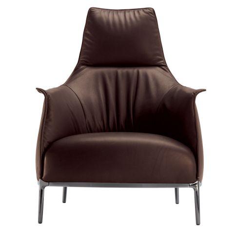 Archibald High-Back Armchair by Jean Marie Massaud from Poltrona Frau - Aram Store
