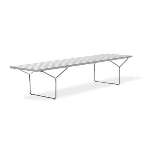 Bertoia Outdoor Slatted Bench by Harry Bertoia from Knoll International - Aram Store