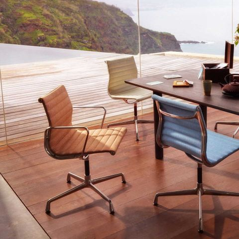 Aluminium Group EA 103 Chair by Charles and Ray Eames from Vitra - Aram Store