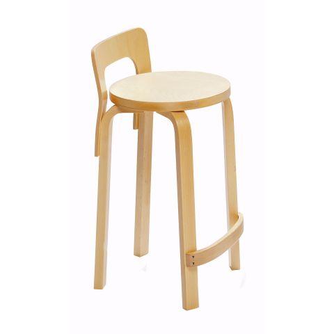 K65 Barstool Alvar Aalto for Artek - Aram Store