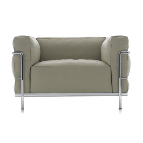 LC3 Armchair by Le Corbusier/Jeanneret/Perriand for Cassina - Aram Store