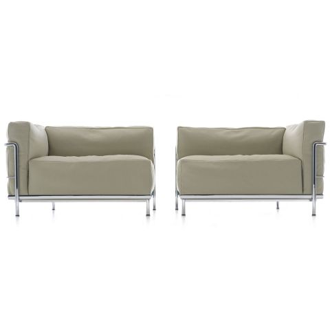 LC3 Meridienne by Le Corbusier, Jeanneret, Perriand for Cassina - Aram Store