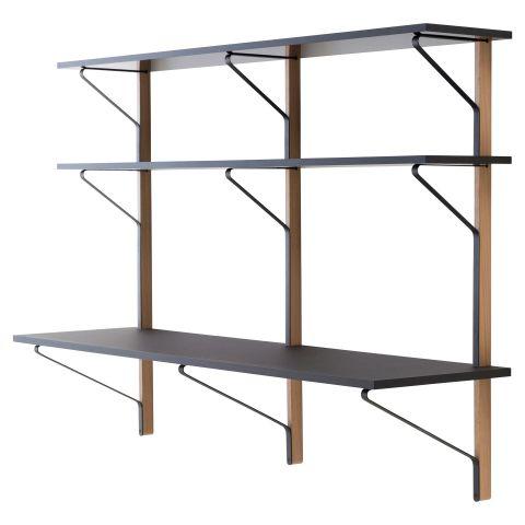 Kaari Shelf With Desk by Ronan & Erwan Bouroullec for Artek - ARAM Store