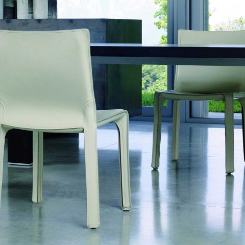 Cab 412 Side Chair by Mario Bellini from Cassina - ARAM Store