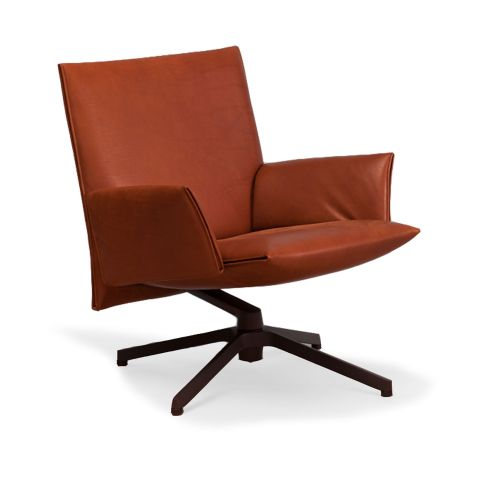 Pilot Soft Low Back Chair by Barber Osgerby for Knoll International - Aram Store