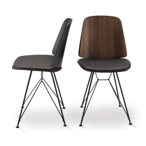 June Chair - Strut Base by Frank Rettenbacher for Zanotta - Aram Store