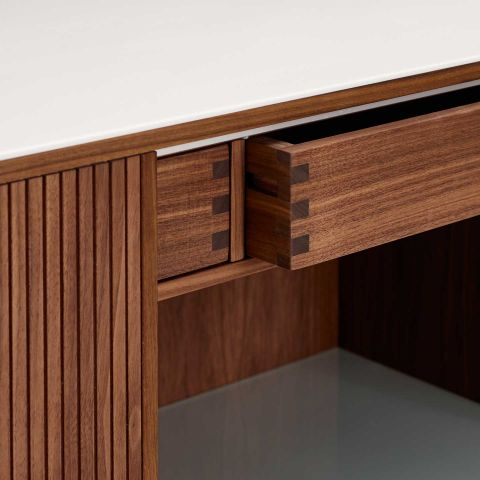 Tambour Cabinet