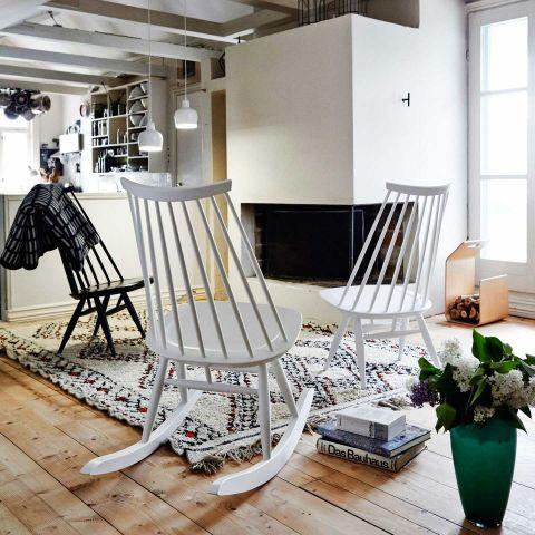 Mademoiselle Rocking Chair by Ilmari Tapiovaara for Artek - Aram Store
