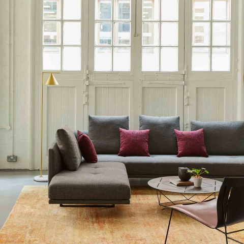 Prime Time 2.5 Corner Sofa by EOOS for Walter Knoll - Aram Store