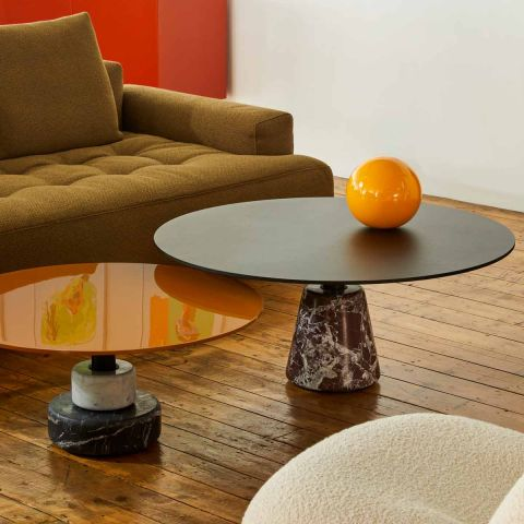 Menhir Low Table C+E Drum by Acerbis and Stoppino for Acerbis - ARAM Store