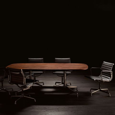 Aluminium Group EA 108 Chair by Charles and Ray Eames from Vitra - Aram Store