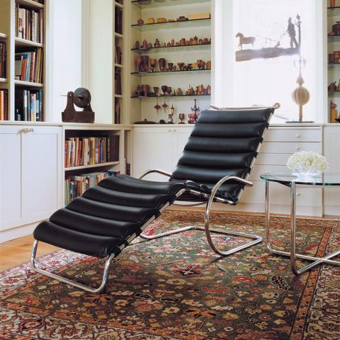 MR Adjustable Chaise by Ludwig Mies van der Rohe for Knoll International - Aram Store