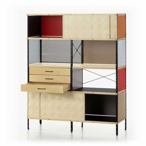 ESU Eames Storage Unit Bookcase by Charles and Ray Eames for Vitra - ARAM Store