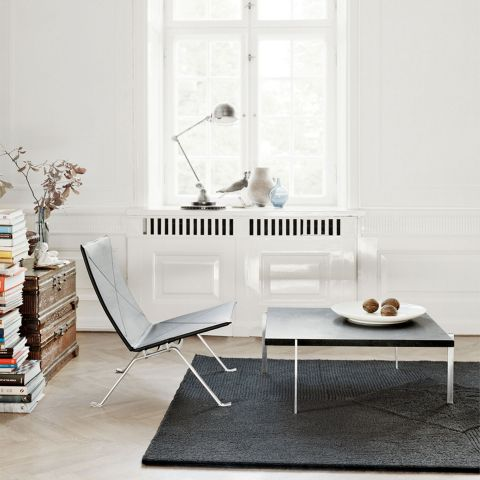 PK61 Coffee Table by Poul Kjaerholm from Fritz Hansen - Aram Store