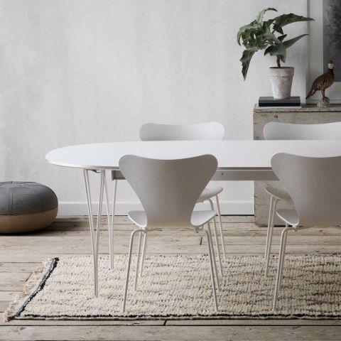 Super-Elliptical Extending Table by Fritz Hansen - ARAM Store