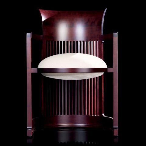 Barrel Chair by Frank Lloyd Wright from Cassina - Aram Store