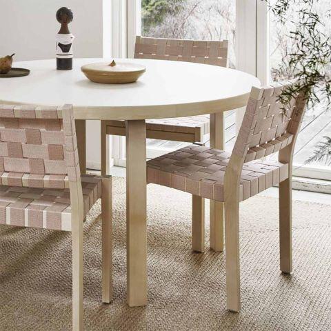 90A Aalto Round Table by Alvar Aalto for Artek - ARAM Store