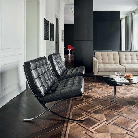 Barcelona Chair Relax - Mies van der Rohe - Knoll International - ARAM Store