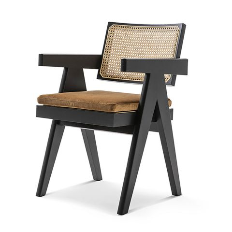 Capitol Complex Arm Chair by Pierre Jeanneret from Cassina - ARAM Store