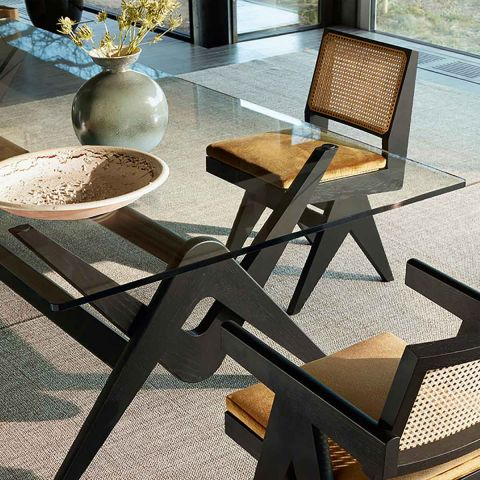 Capitol Complex Chair by Pierre Jeanneret from Cassina - ARAM Store