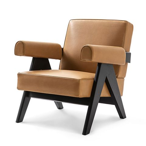 Capitol Complex Lounge Chair by Pierre Jeanneret from Cassina - ARAM Store