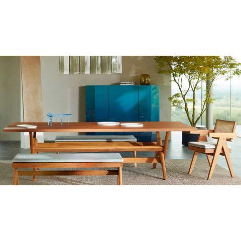Capitol Complex Table - Pierre Jeanneret - Cassina - ARAM Store