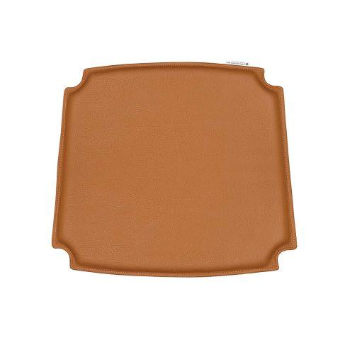 CH24 Wishbone seat cushion - caramel