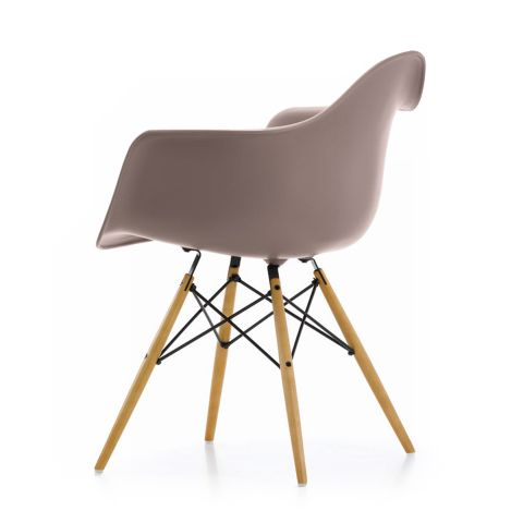 DAW Eames Plastic Armchair by Charles & Ray Eames for Vitra - Aram Store