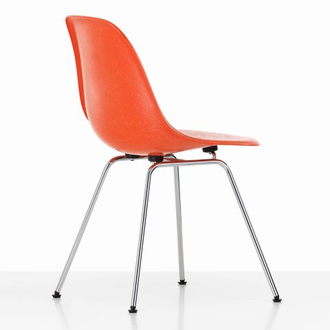 DSX Eames Fibreglass Side Chair by Charles & Ray Eames for Vitra - ARAM STORE