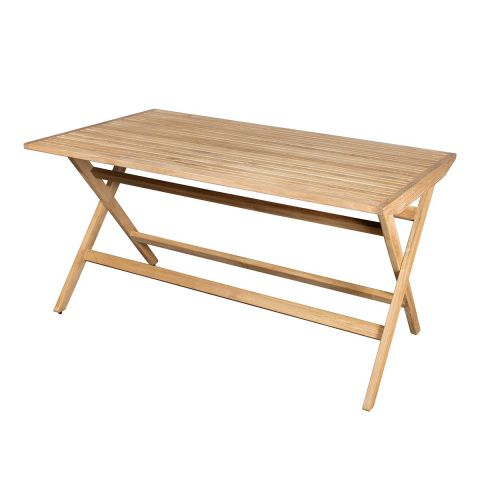 Flip Folding Outdoor Dining Table by Strand and Hvass for Cane-Line - Aram Store