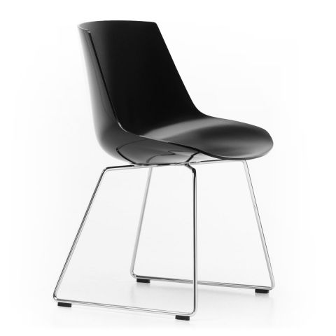 Flow Chair Sled base by Jean Marie Massaud for MDF Italia - Aram Store