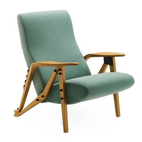 Gilda Reclining Chair by Carlo Mollino for Zanotta - Aram Store