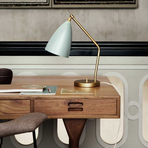 Grasshopper Table Lamp - Greta Grossman - Gubi