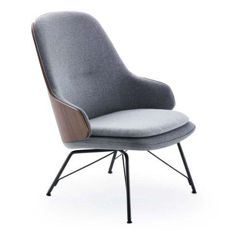 Judy Lounge Chair from Zanotta - Aram Store